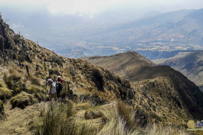 ascenso al volcán imbabura