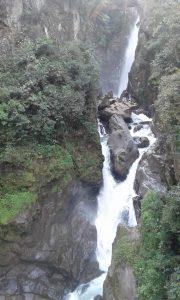 cascada Baños