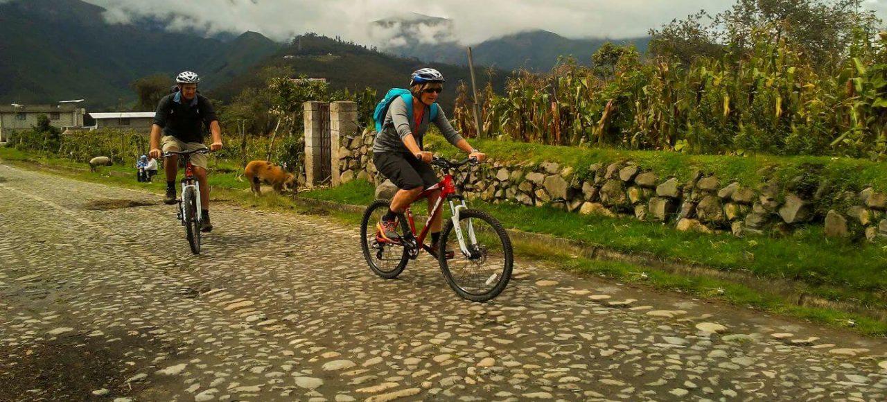 Adventure biking Zuleta and Otavalo Ecuador