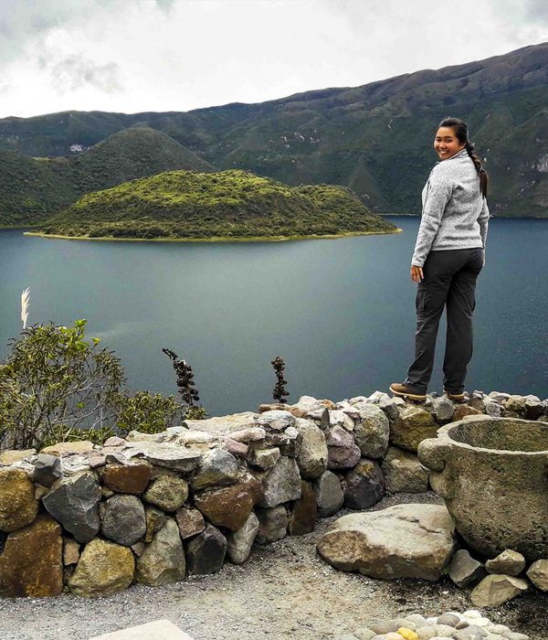 Communities trip & Cuicocha lake tour cuicocha lake cotacachi