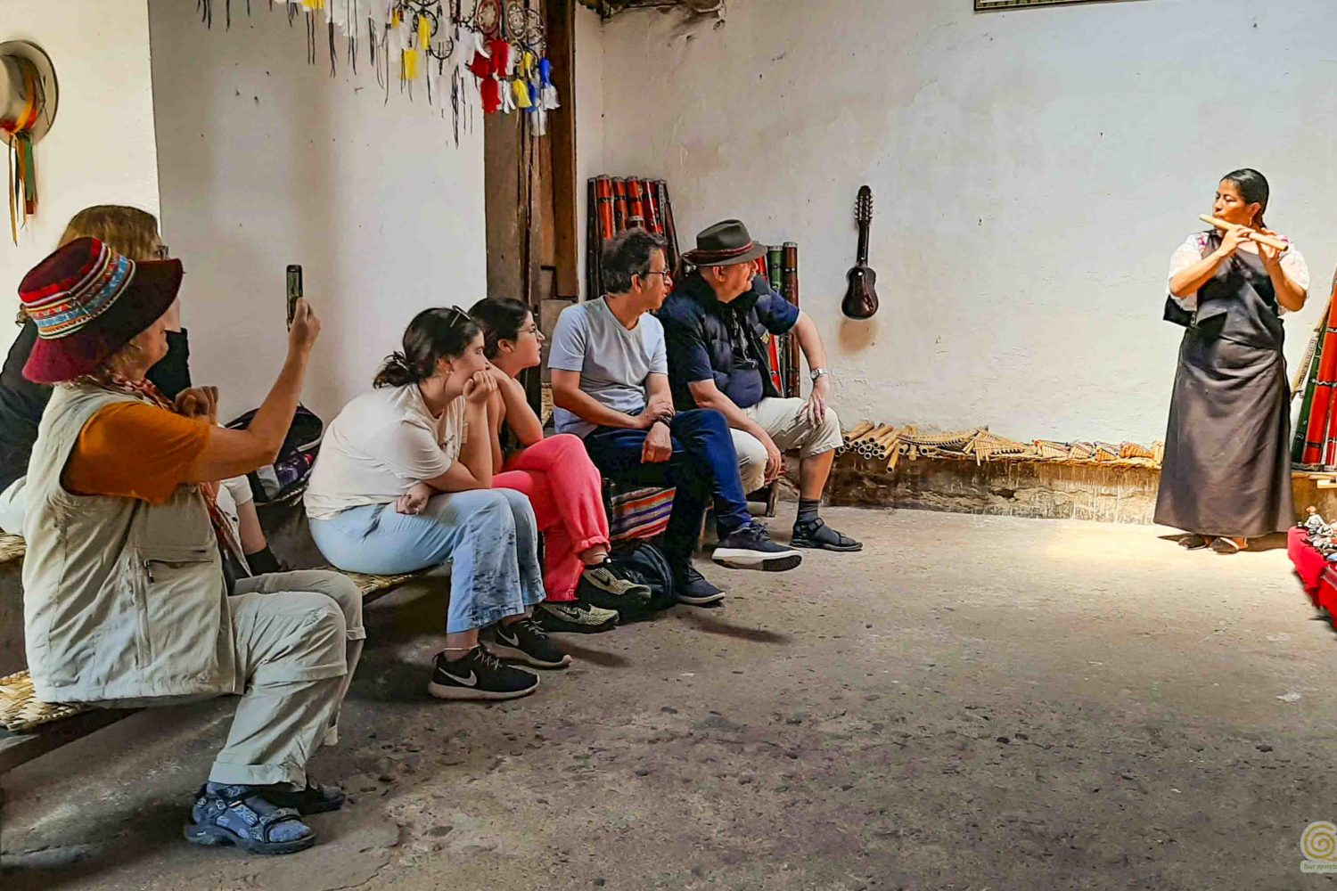 Communities trip and Cuicocha lake tour instrumentos musicales otavalo