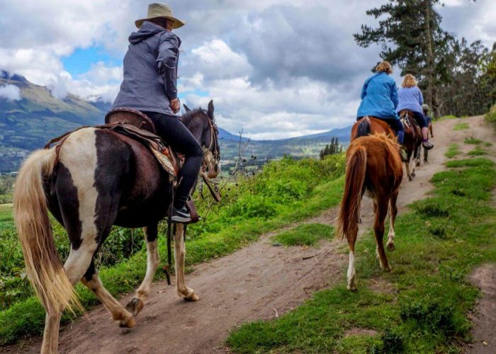 Horseback riding Otavalo Ecuador