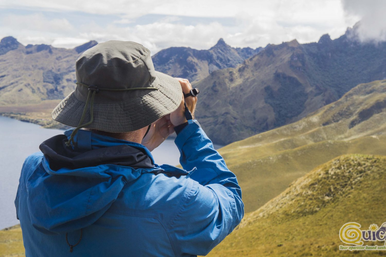 Trekking in Mojanda lake and Fuya Fuya mountain